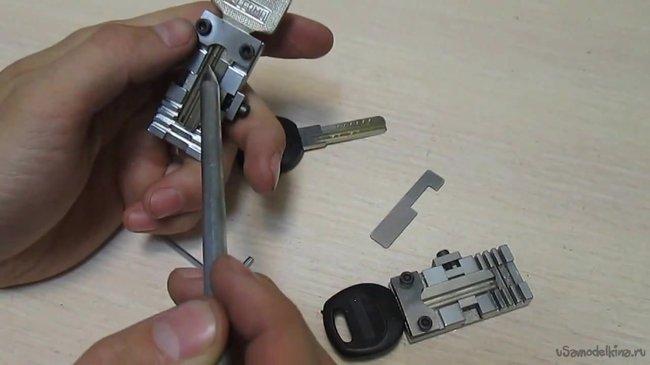 Как сделать дубликат ключа-таблетки