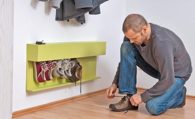 Как сделать своими руками обувницу
