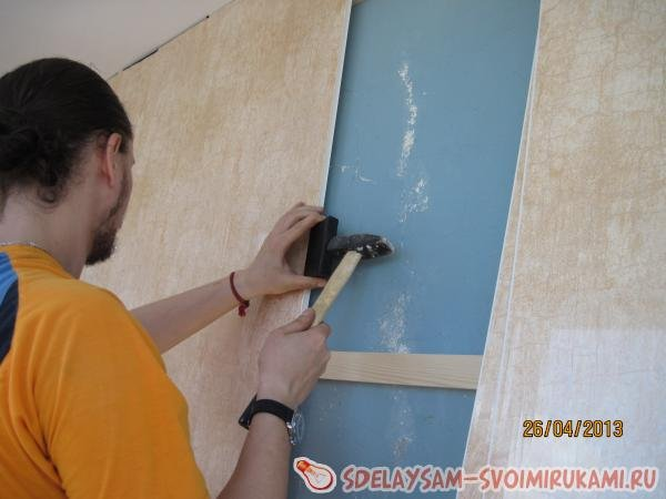 Как отделать стены панелями своими руками.