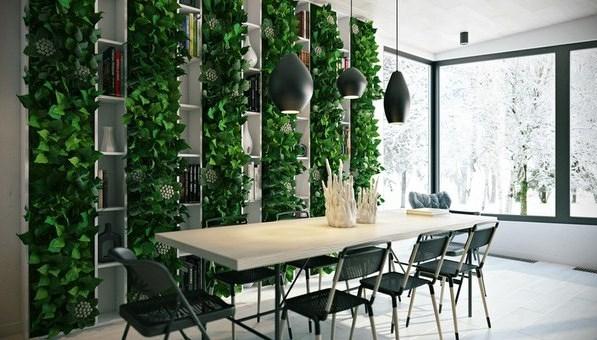 Аутентичное вертикальное озеленение