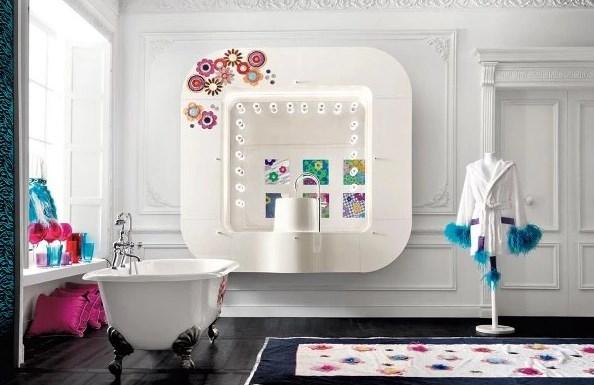гламурная ванная комната фото