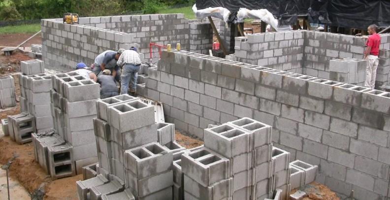 Строительство гаража из шлакоблока своими руками