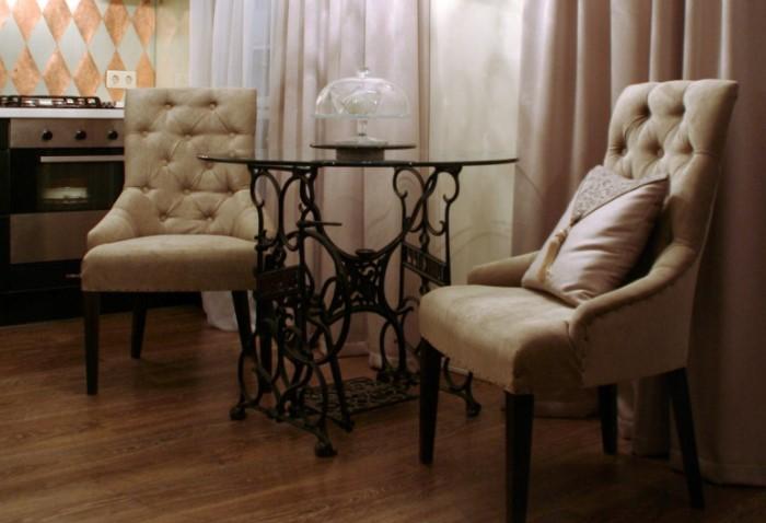 мягкие кресла для кухни. Фото