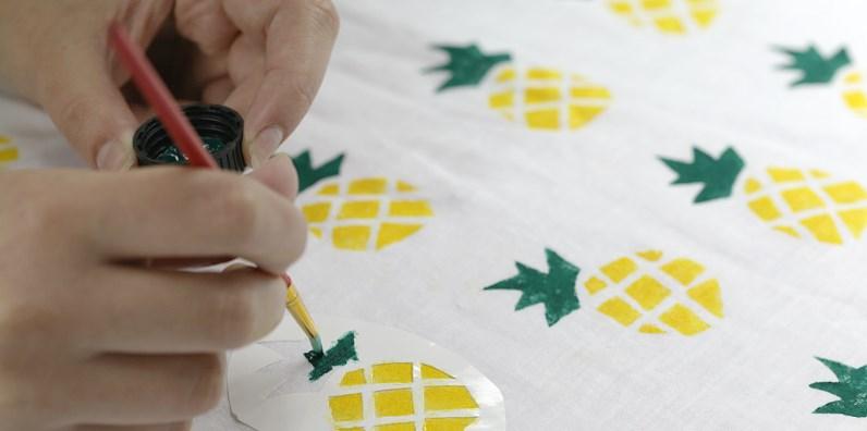 для росписи и декорирования тканей