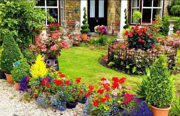 Пошаговое создание сада после строительства