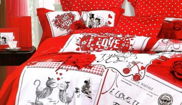 Свадебное постельное бельё в подарок 23
