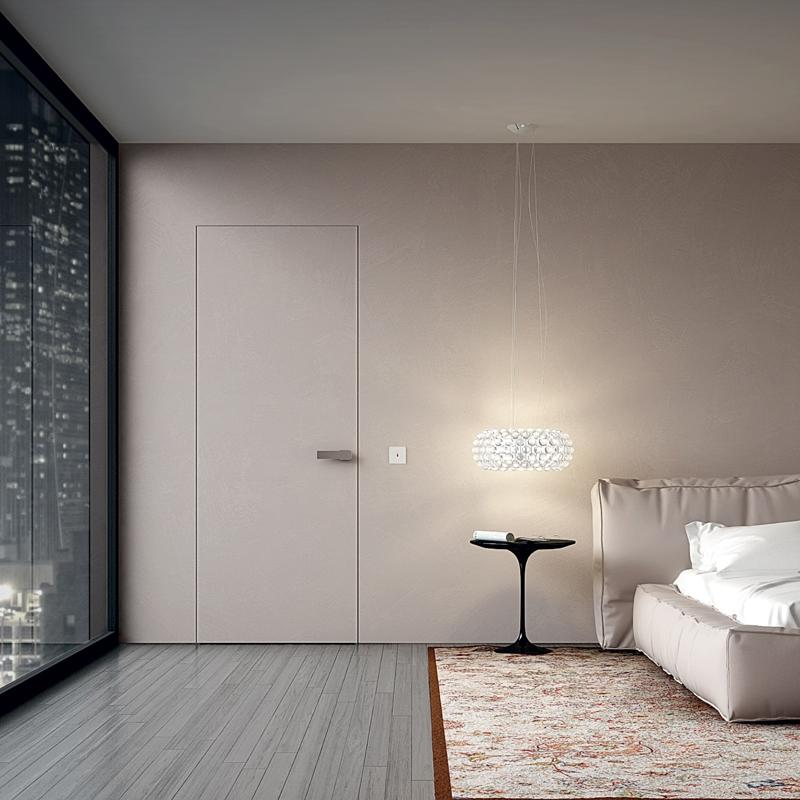 межкомнатные двери скрытые в современном стиле фото