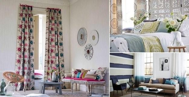 текстиль в скандинавском интерьере