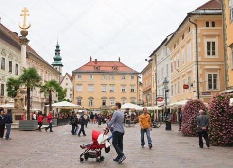 Клагенфурт Старая площадь