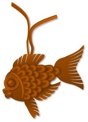 """Кулон """"Рибка"""""""
