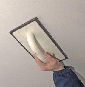 Шпаклівка стелі