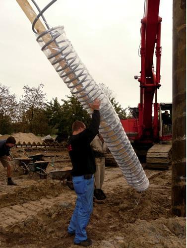Использования тепловой энергии грунта с помощью зонда REHAU RAUGEO HELIX
