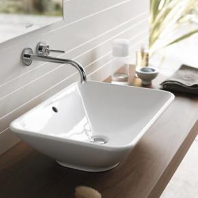 На какой высоте установить оборудование в ванной комнаты?