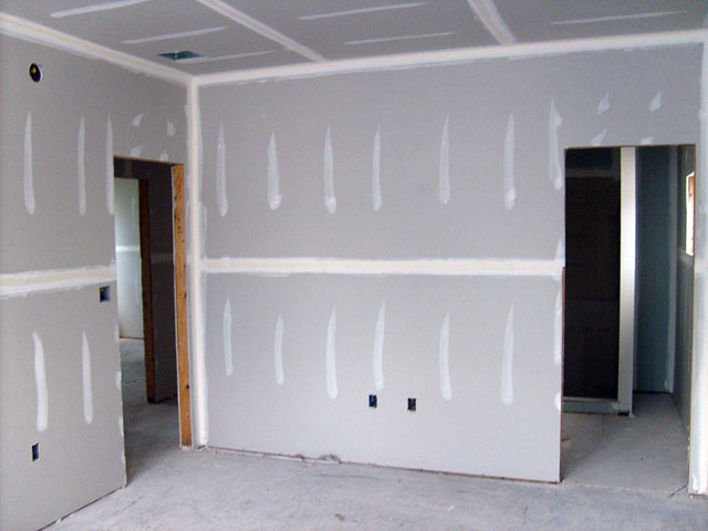 Гладкие и ровные стены без заштукатуривания