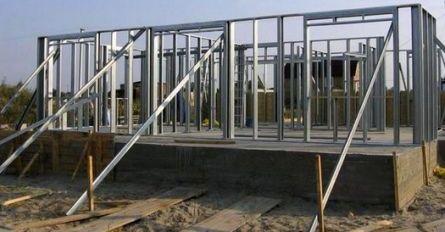 Строительство каркасного дома из стальных конструкций — это стоит знать