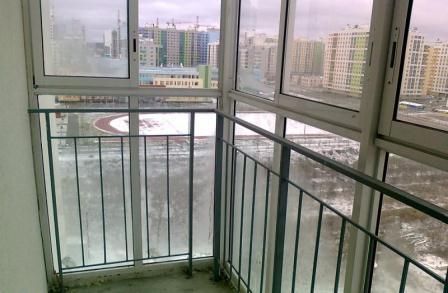 Балкон, вид изнутри.