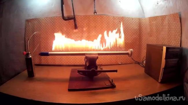 Робимо вогняну трубу або трубу Рубенса
