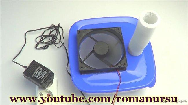 Робимо міні кондиціонер і зволожувач повітря в домашніх умовах