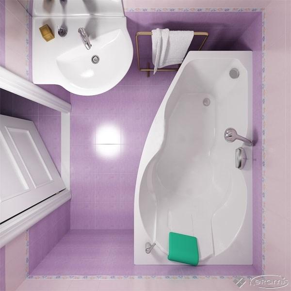 Современные ванные для интерьера