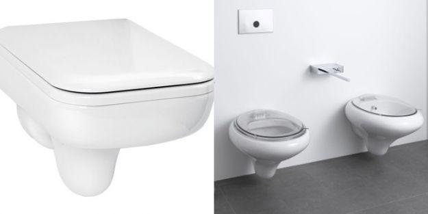 Современная ванная комната с сантехникой от Villeroy & Boch