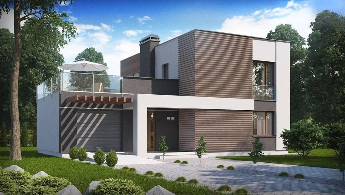 Современные двухэтажные дома. фОТО