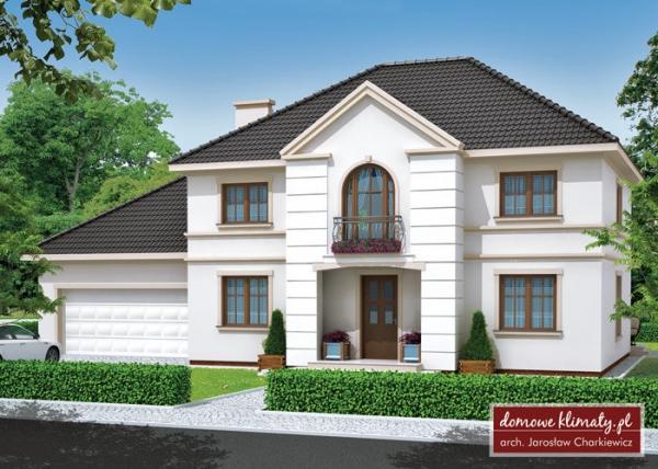 Проект двухэтажного дома _Virgo III