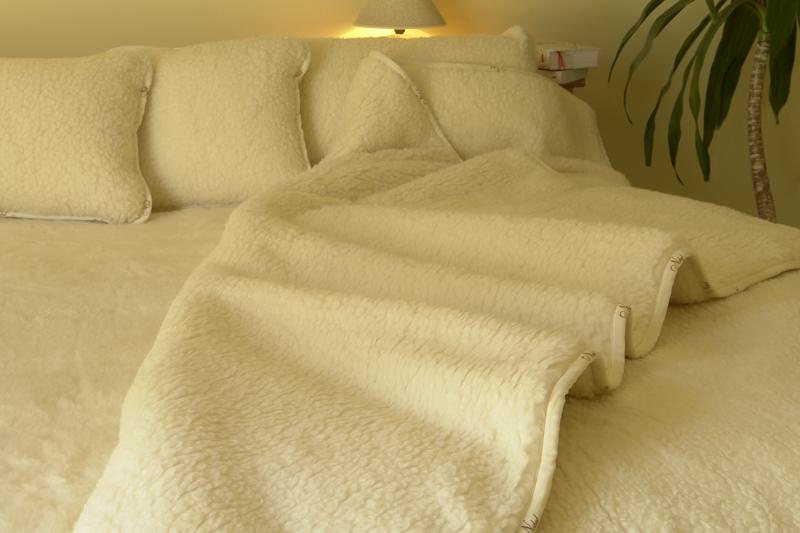 Шерстяные одеяла из шерсти мериноса