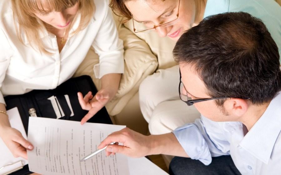 составление договора с клиентом
