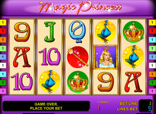 play slot magic princess. Фото