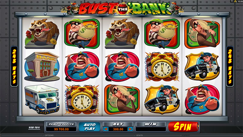 Фото игры bust the bank
