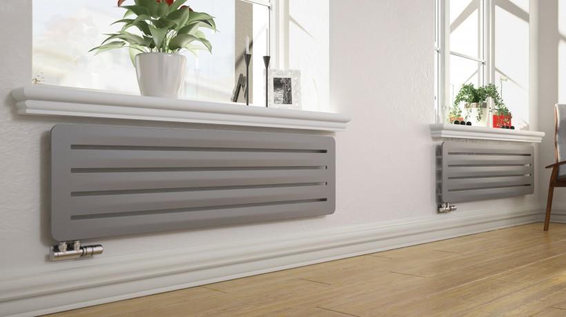 Дизайнерские алюминиевые  радиаторы
