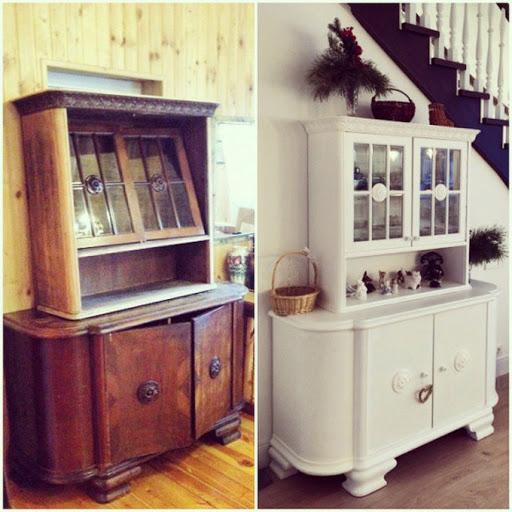Как самостоятельно обновить мебель из дерева