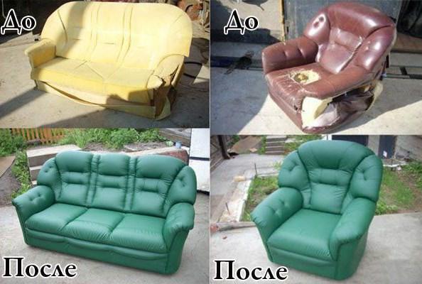 Как придать старой мебели ухоженный вид