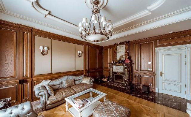 рококо в гостиной