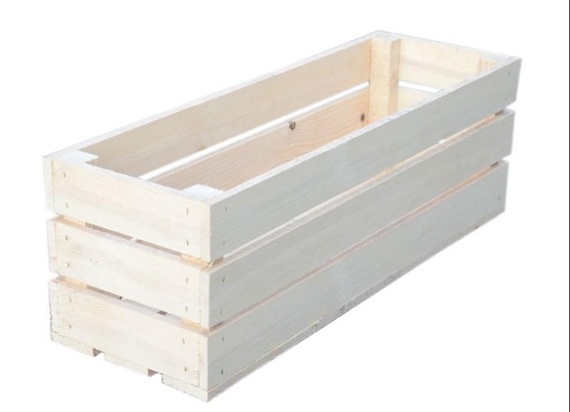 деревянные ящики и кашло для сада