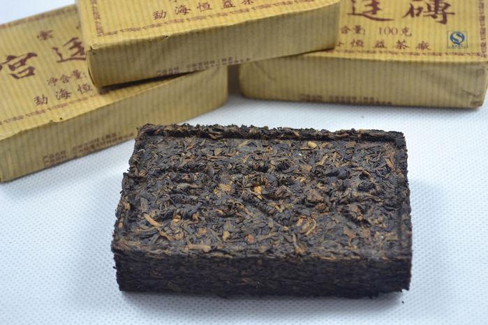 Брикеты чая использовались как валюта