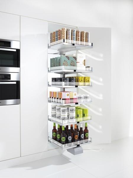 Кухонная мебель с системами CONVOY Lavido