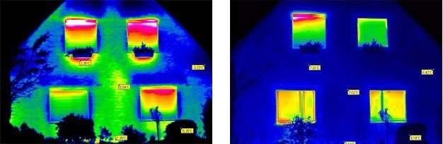 Проверка тепловизором До и ПОСЛЕ утепления дома жидким пенопластом