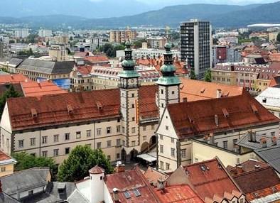 Старый город в Клагенфурте