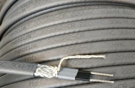 греющий кабель для кровли