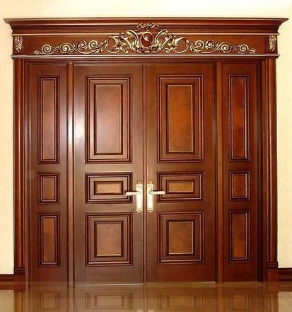 двойные деревянные двери межкомнатные
