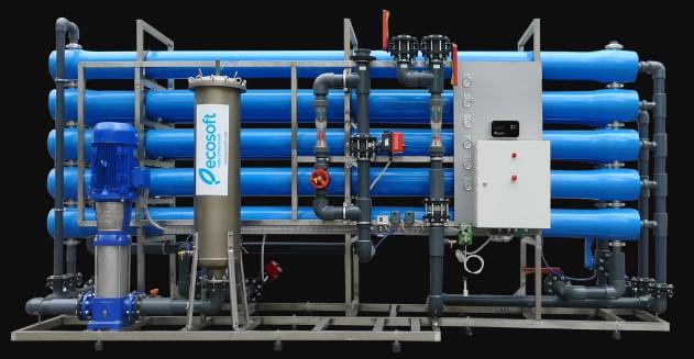 промышленная очистка воды Еcosoft
