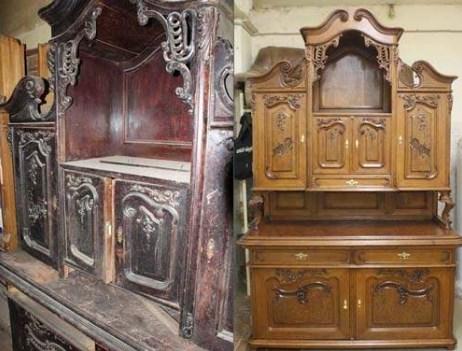 Особенности реставрации антикварной мебели