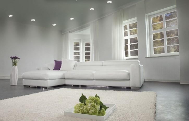 светильники точечные в интерьере фото