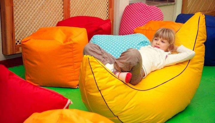 бескаркасная мебель детская