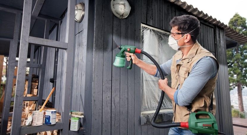 выбрать краскопульт электрический для стен