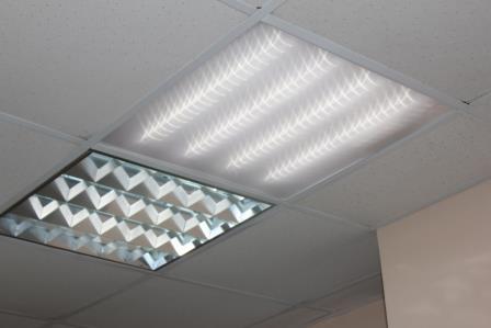 Потолочные светильники амстронг