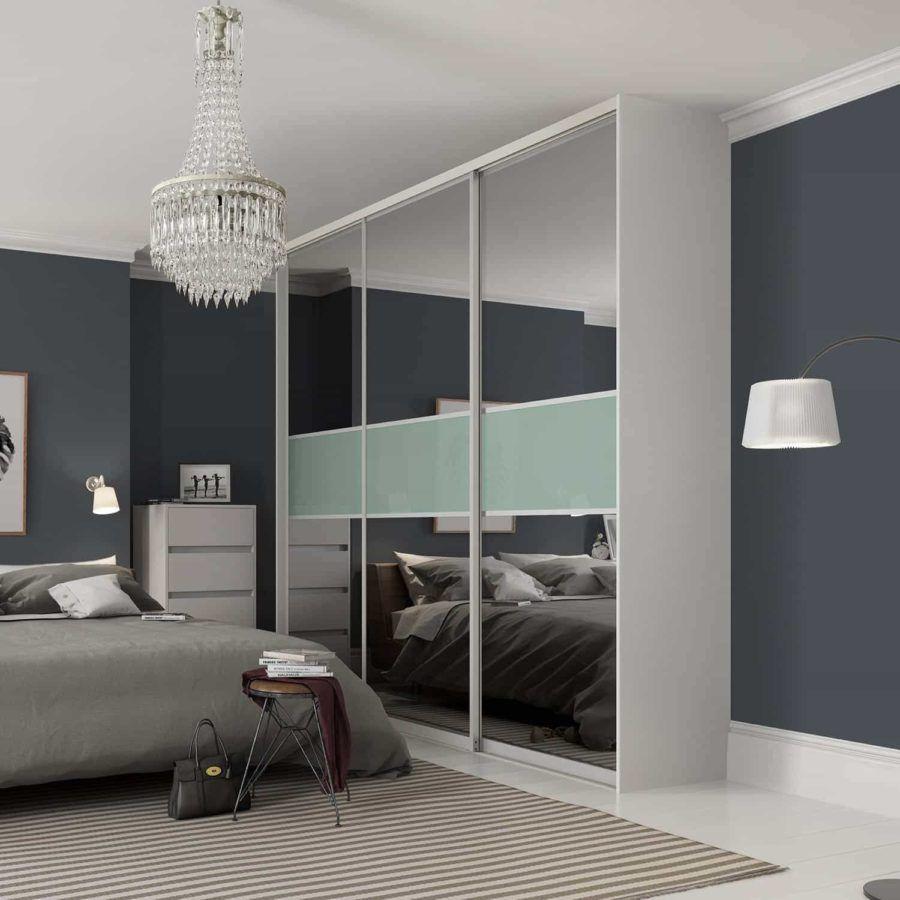 контемпорари шкаф для спальни фото