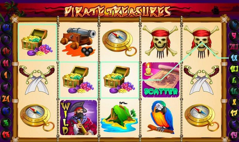 Pirate Treasures обзор и отзывы