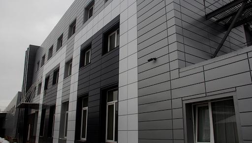 Реечные вентилируемые фасады